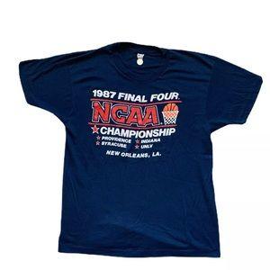 Vintage 1987 NCAA Final Four Screen Stars T-Shirt